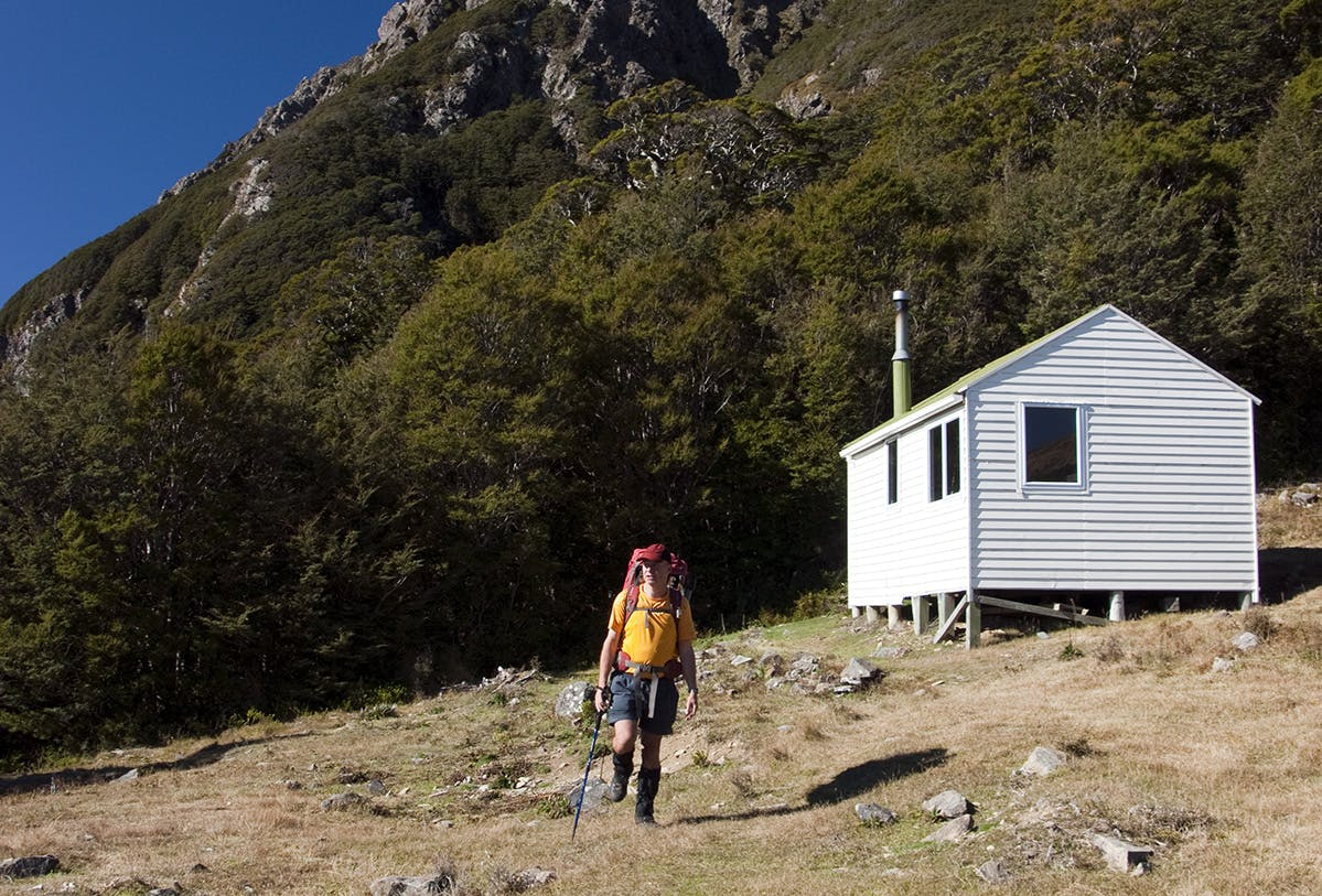 Mt Rintoul Hut. Photo: Ray Salisbury