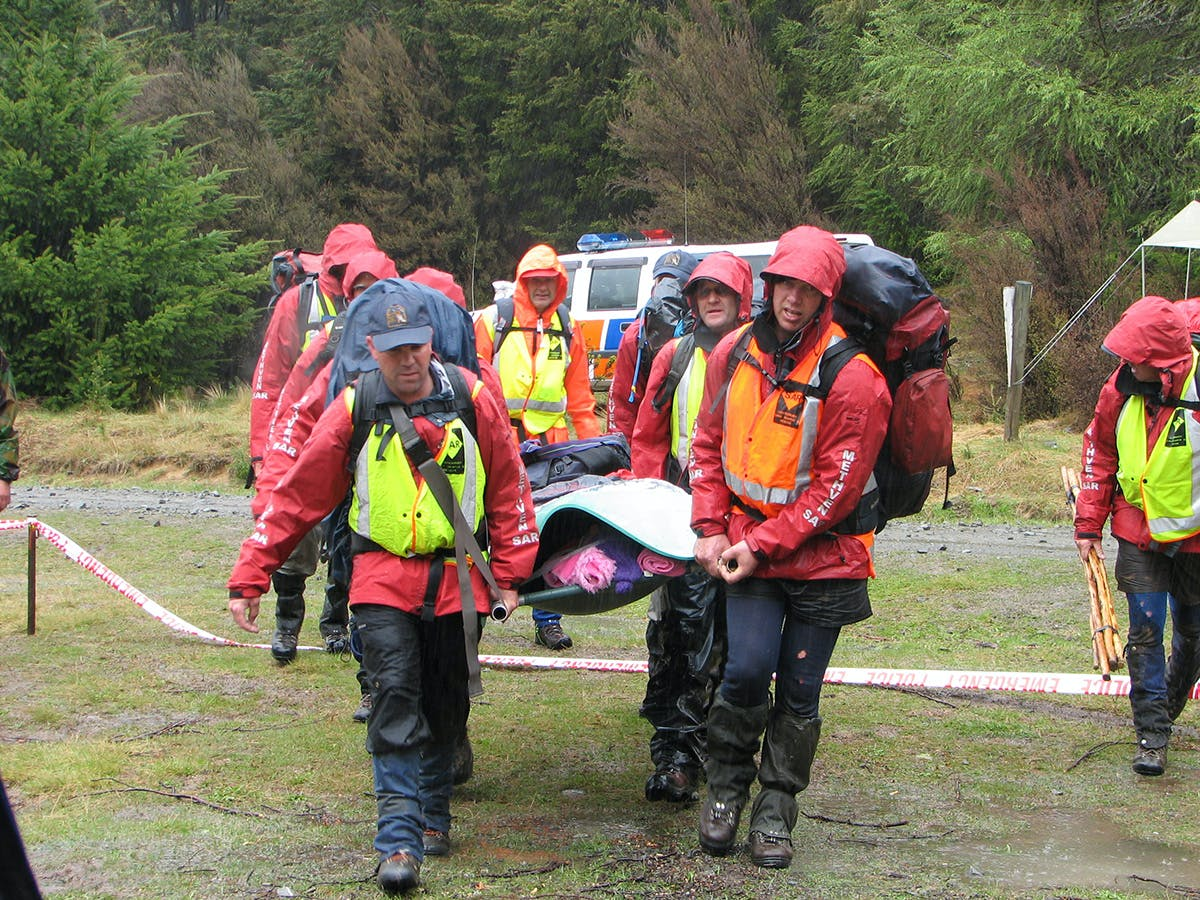 PLBs turn a search and rescue operation into a simple rescue. Photo: Supplied