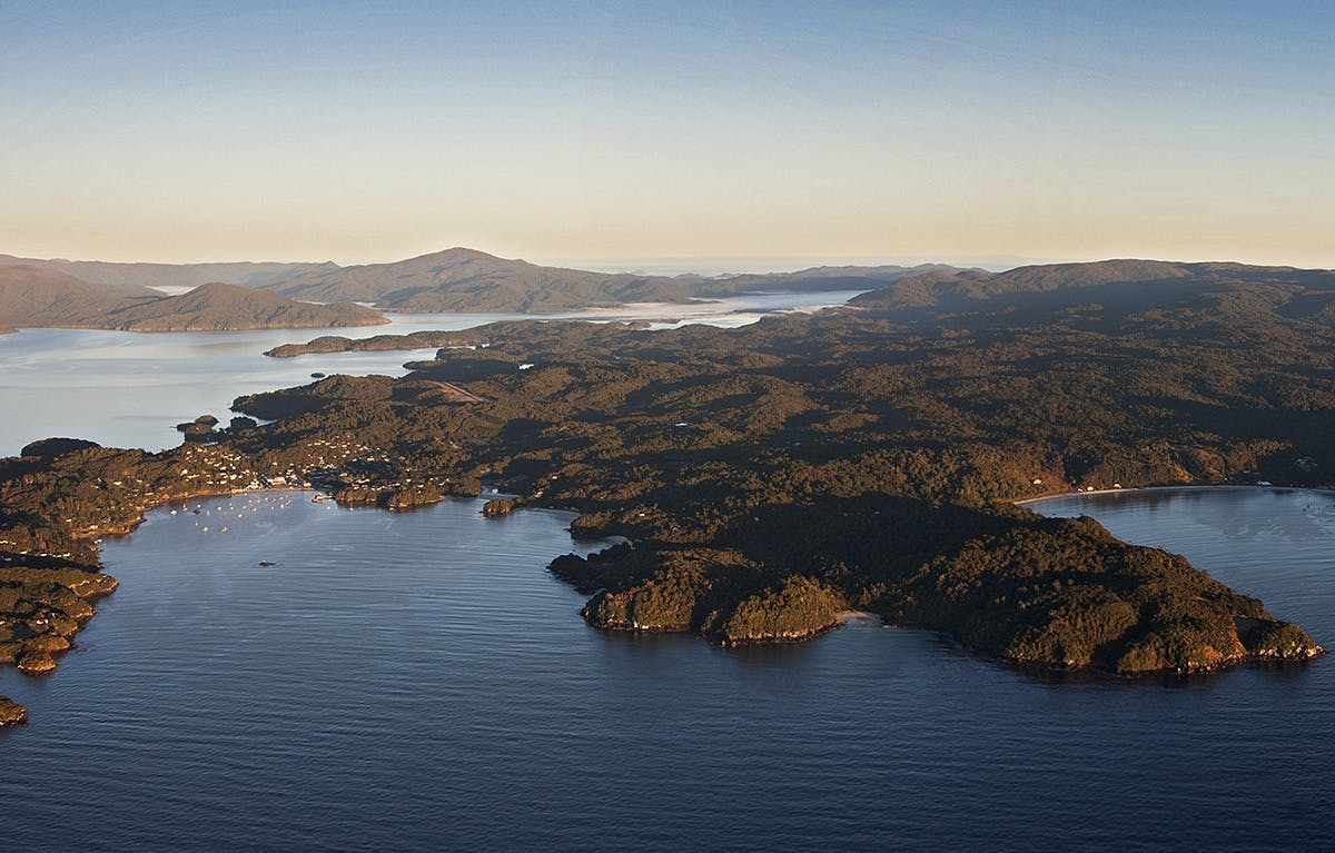 Around 92 per cent of Stewart Island's 175,000ha is managed by DOC. Photo: Jo Price
