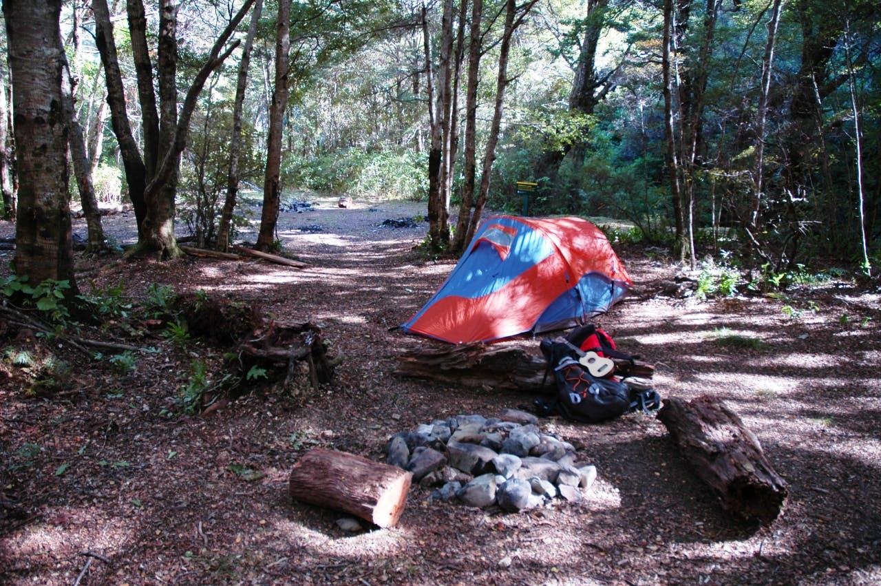 Graces Stream campsite