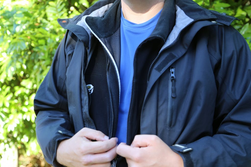 Base, mid and outer layers combine to keep you dry and warm