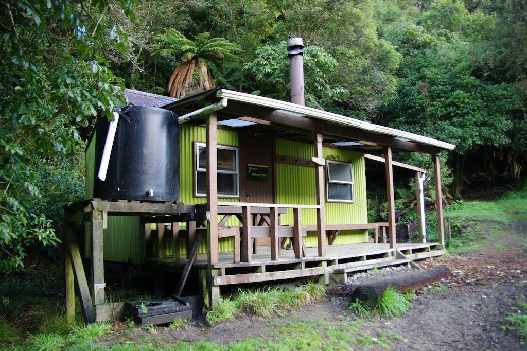 Midway Hut. Photo: Hazel Phillips