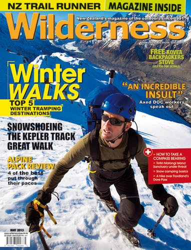 Image of the May 2013 Wilderness Magazine Cover