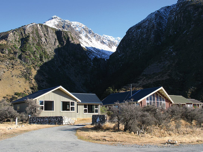 Unwin Hut hosts numerous NZAC workshops. Photo: Supplied