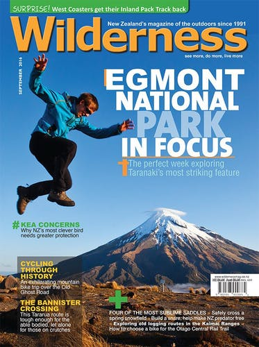 Image of the September 2016 Wilderness Magazine Cover