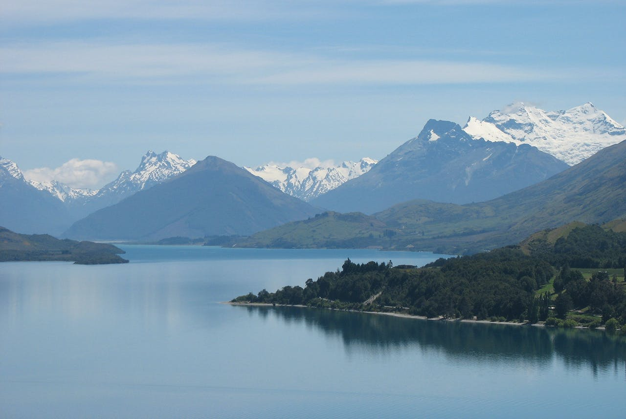 Bennetts Bluff on the Glenorchy Queenstown Road offers breathtaking views. Photo: Paul Rush