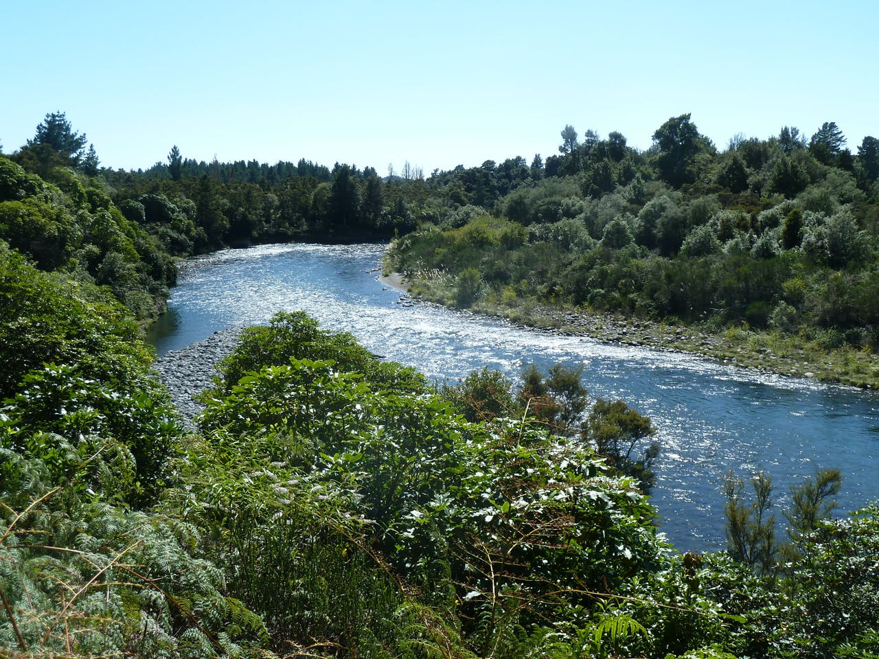 The three day walk along the Tongariro River is still years away