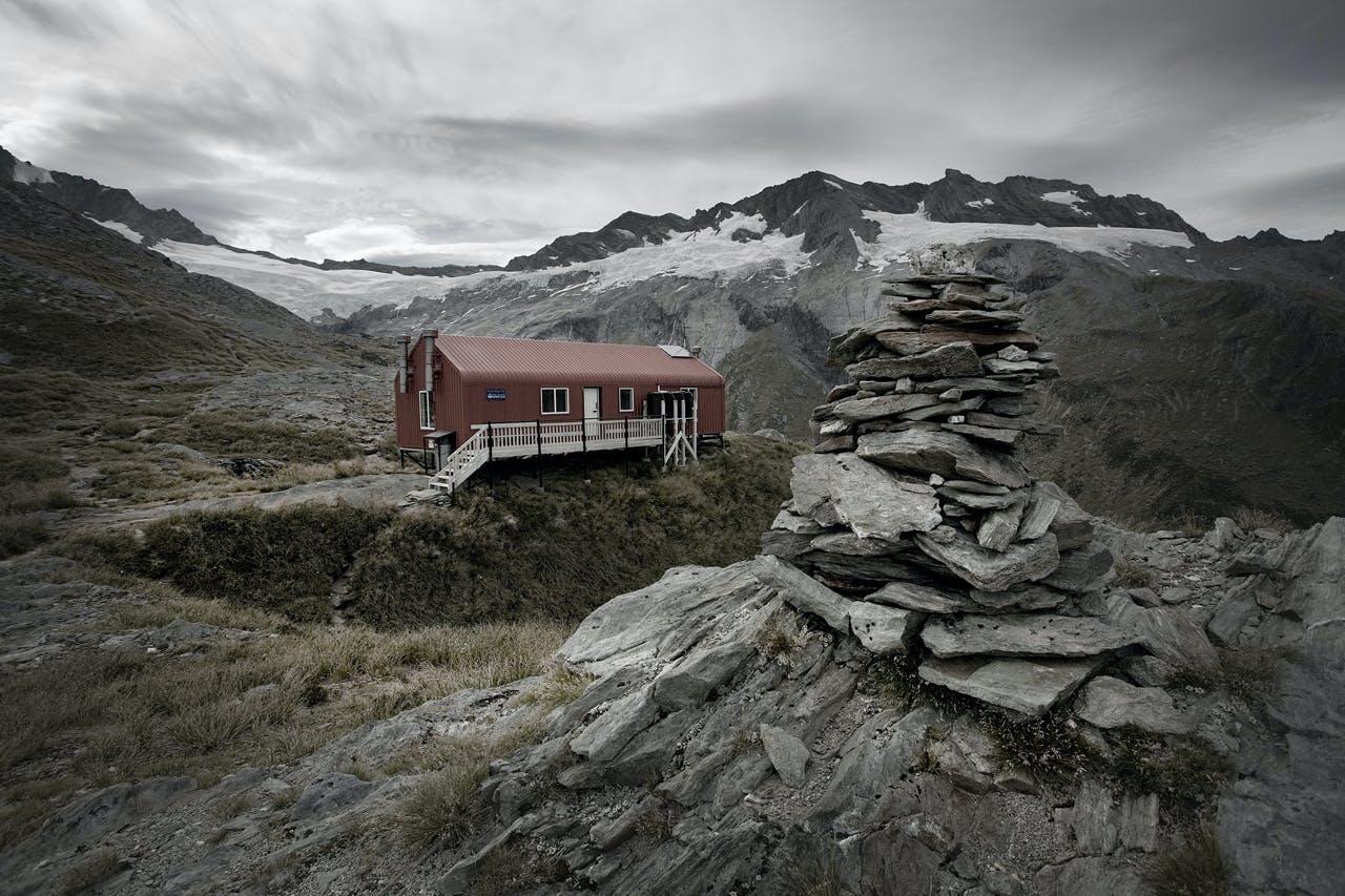 French Ridge hut. Photo: Mark Banham