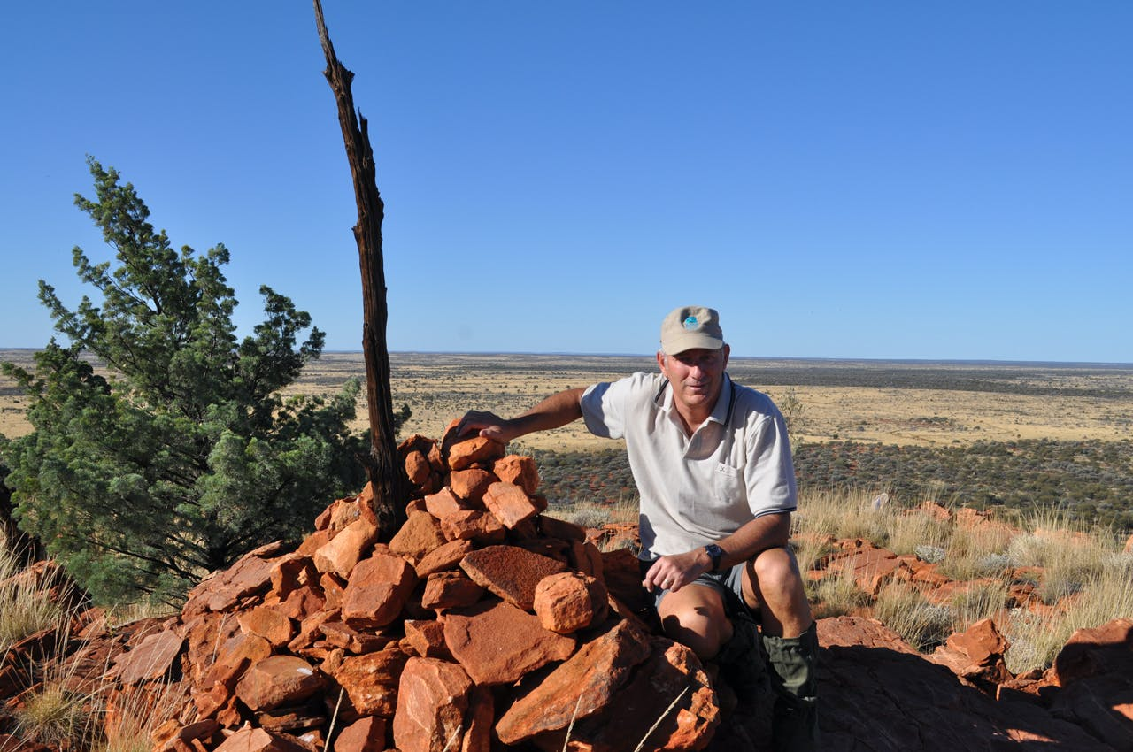 Kevin Taylor in Australia