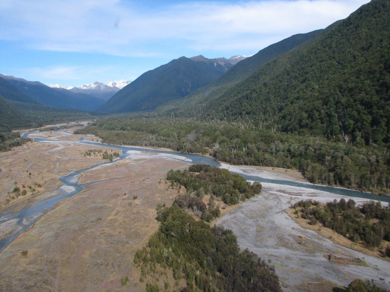 The remote Matakitaki River Valley where Reynolds is believed to have gone missing