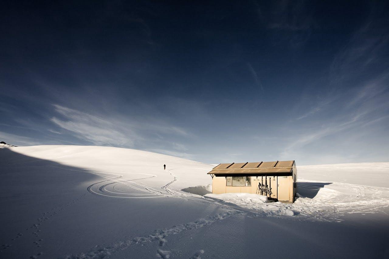 Kirtle Burn Hut. Photo: Mark Banham