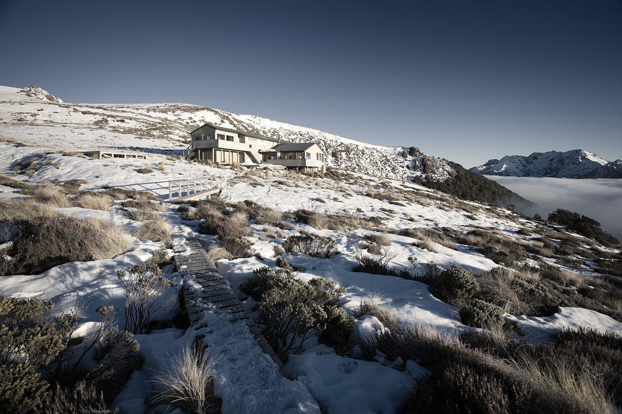 Luxemore Hut