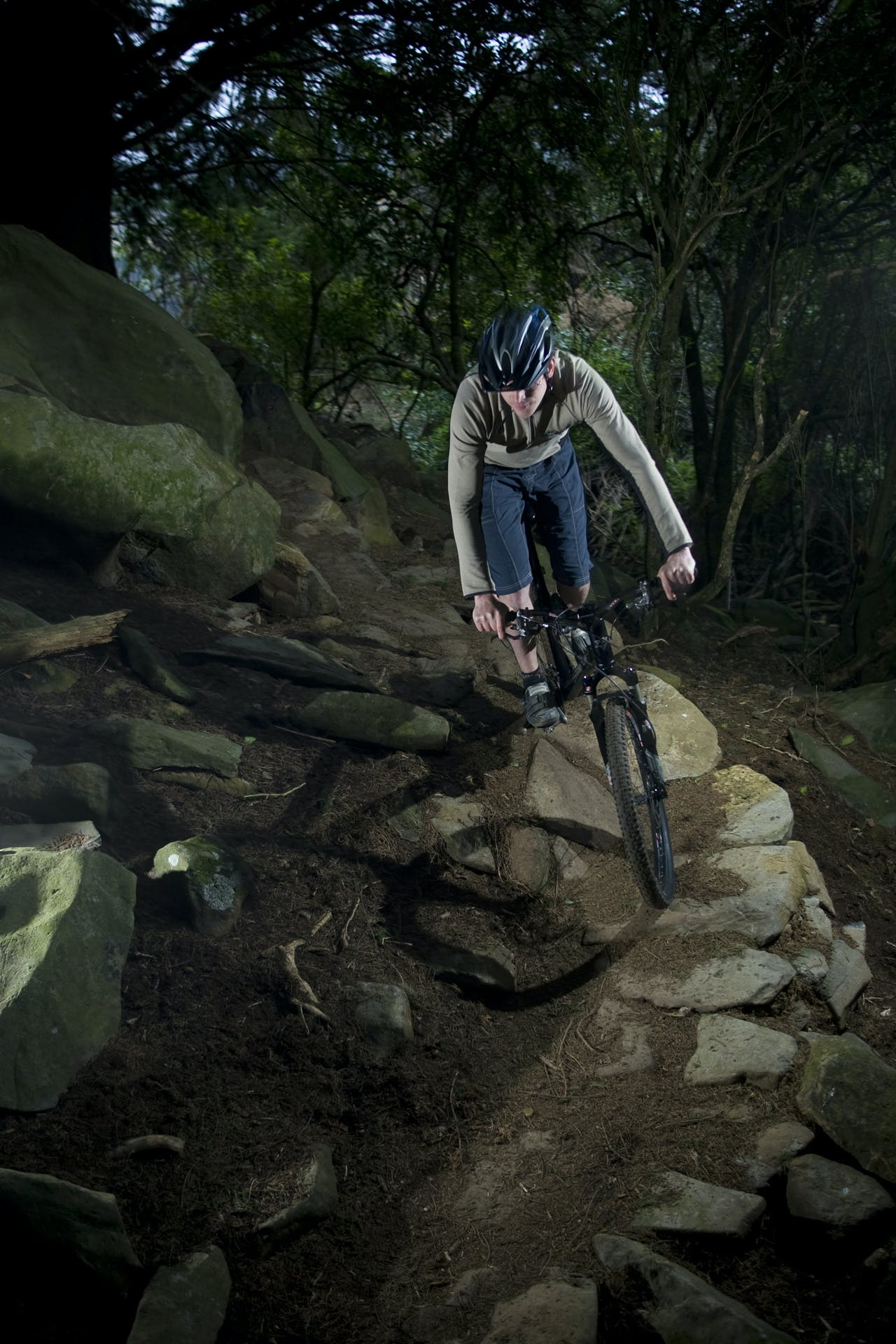 Godfather of Otago mountain biking Hamish Seaton on the Nicolas Creek Track