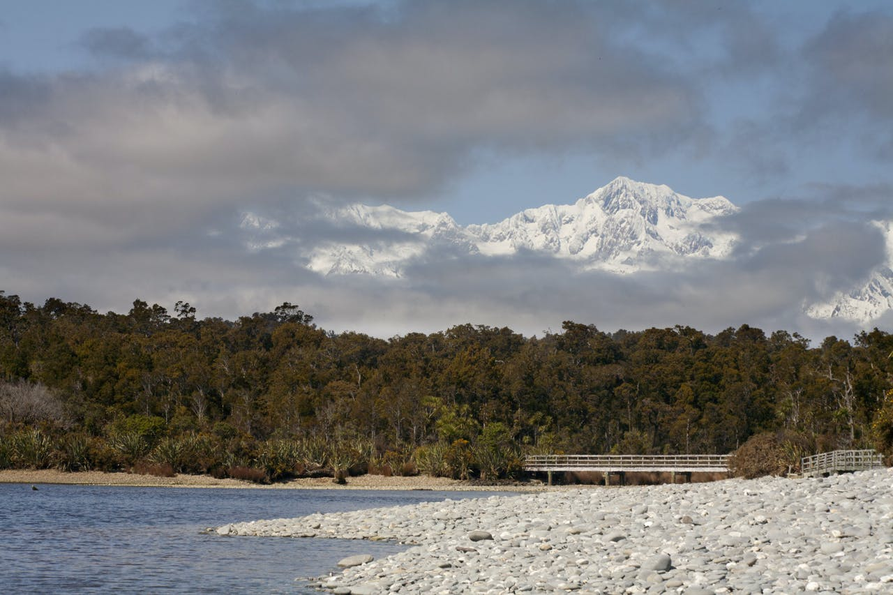 Mount Cook from Gillespies Beach. PHoto: Nick Groves
