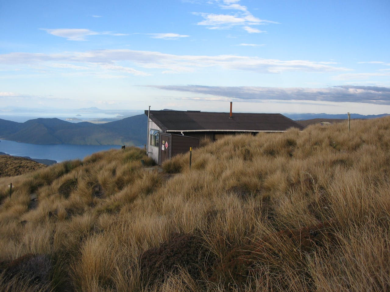 Ketetahi Hut, Tongariro National Park. Photo: Jimmy Johnson