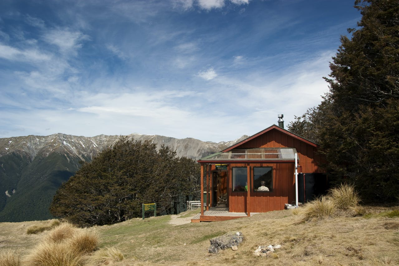 Bushline Hut, Nelson Lakes National Park. Photo: Raymond Salisbury