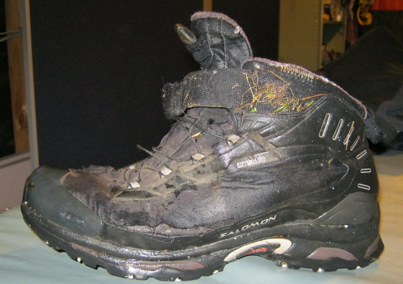Julian Stukenburg's boots were not stiff enough for the terrain he was in and are considered a factor in his death