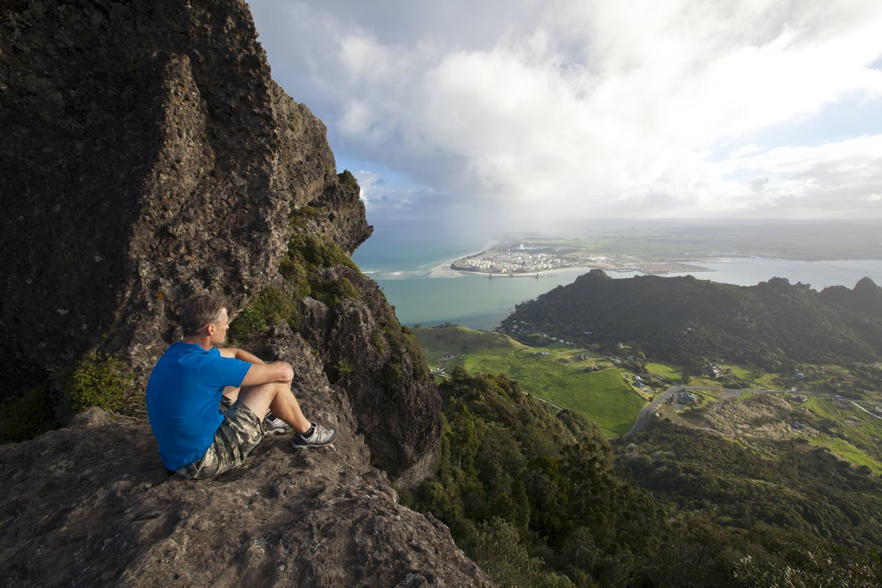 Majestic views from Mt Manaia. Photo: Mark Watson