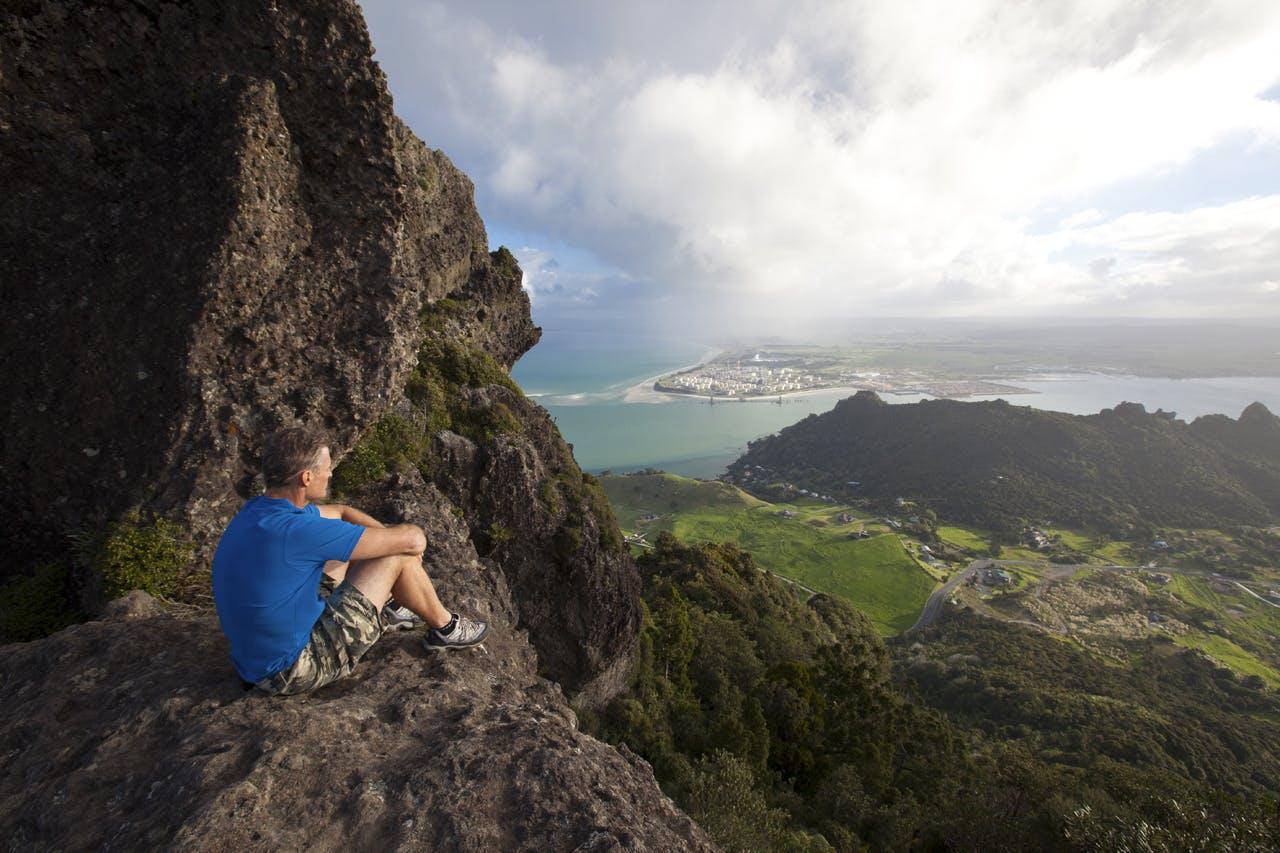 Majestic views from Mt Manaia. Photo: Mark Watson