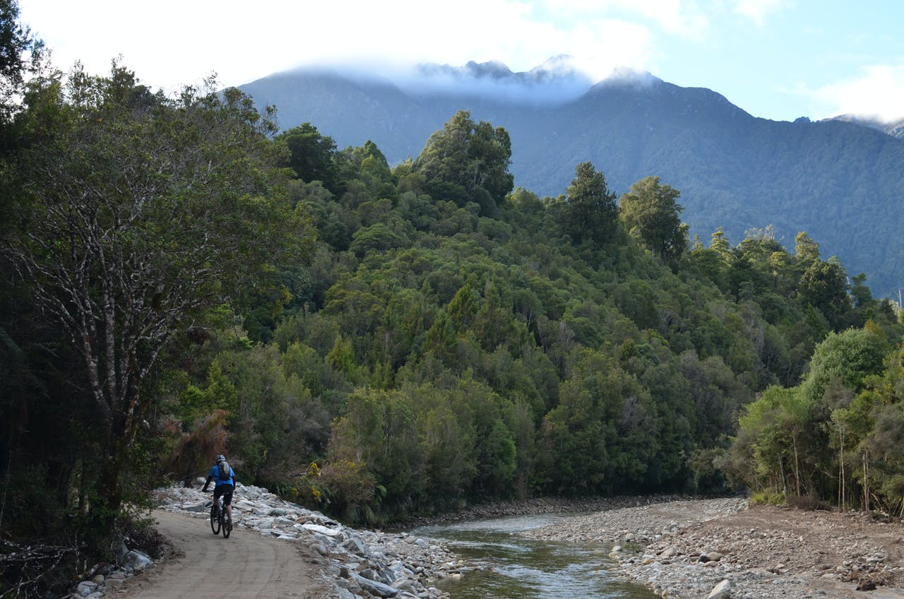 The West coast Wilderness trail will eventually run between Greymouth and Ross