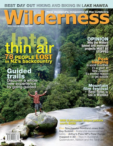 Image of the June 2012 Wilderness Magazine Cover