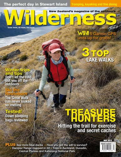 Image of the May 2012 Wilderness Magazine Cover