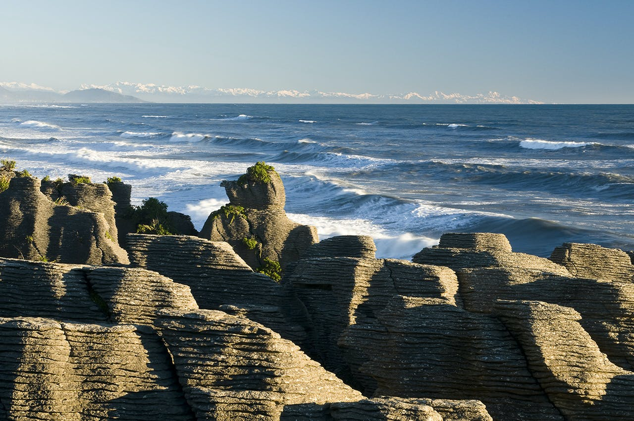 The Pancake Rocks are a major drawcard at Punakaiki. Photo: Tourism West Coast