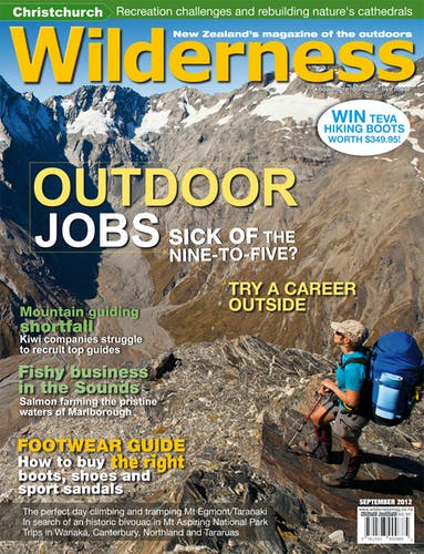 Image of the September 2012 Wilderness Magazine Cover