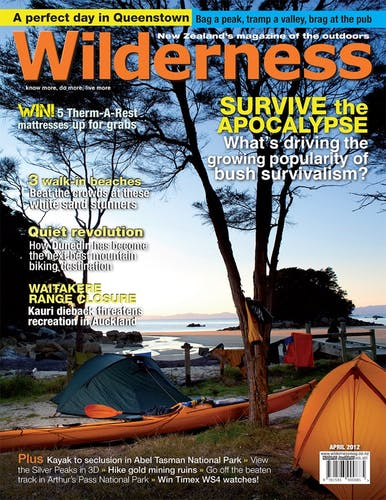 Image of the April 2012 Wilderness Magazine Cover