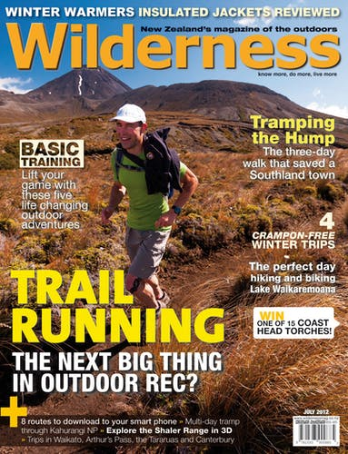 Image of the July 2012 Wilderness Magazine Cover