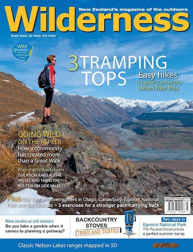 Image of the February 2012 Wilderness Magazine Cover