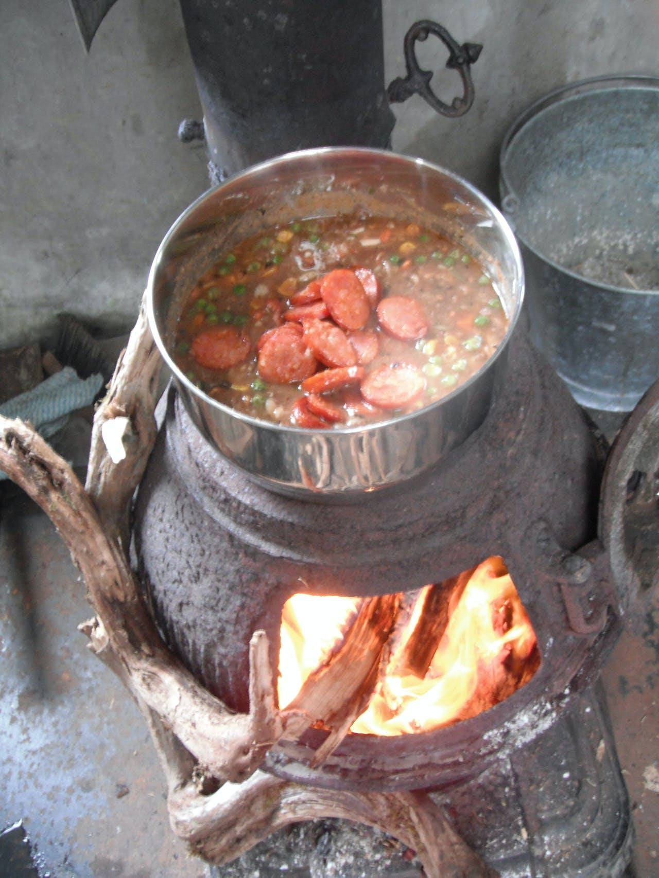 Spanish sausage stew