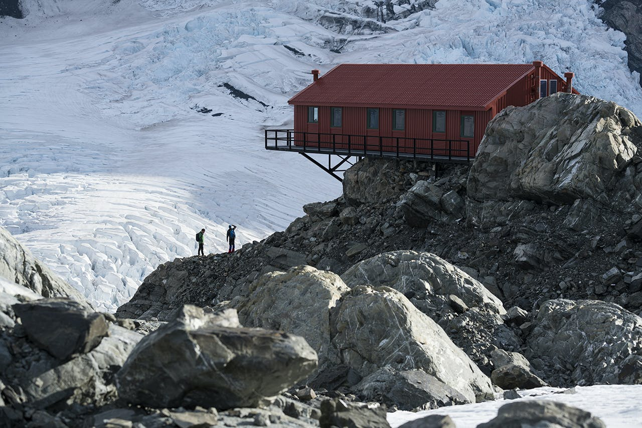 Plateau Hut makes for a special location to experience the high mountain environment. Photo: Mark Watson
