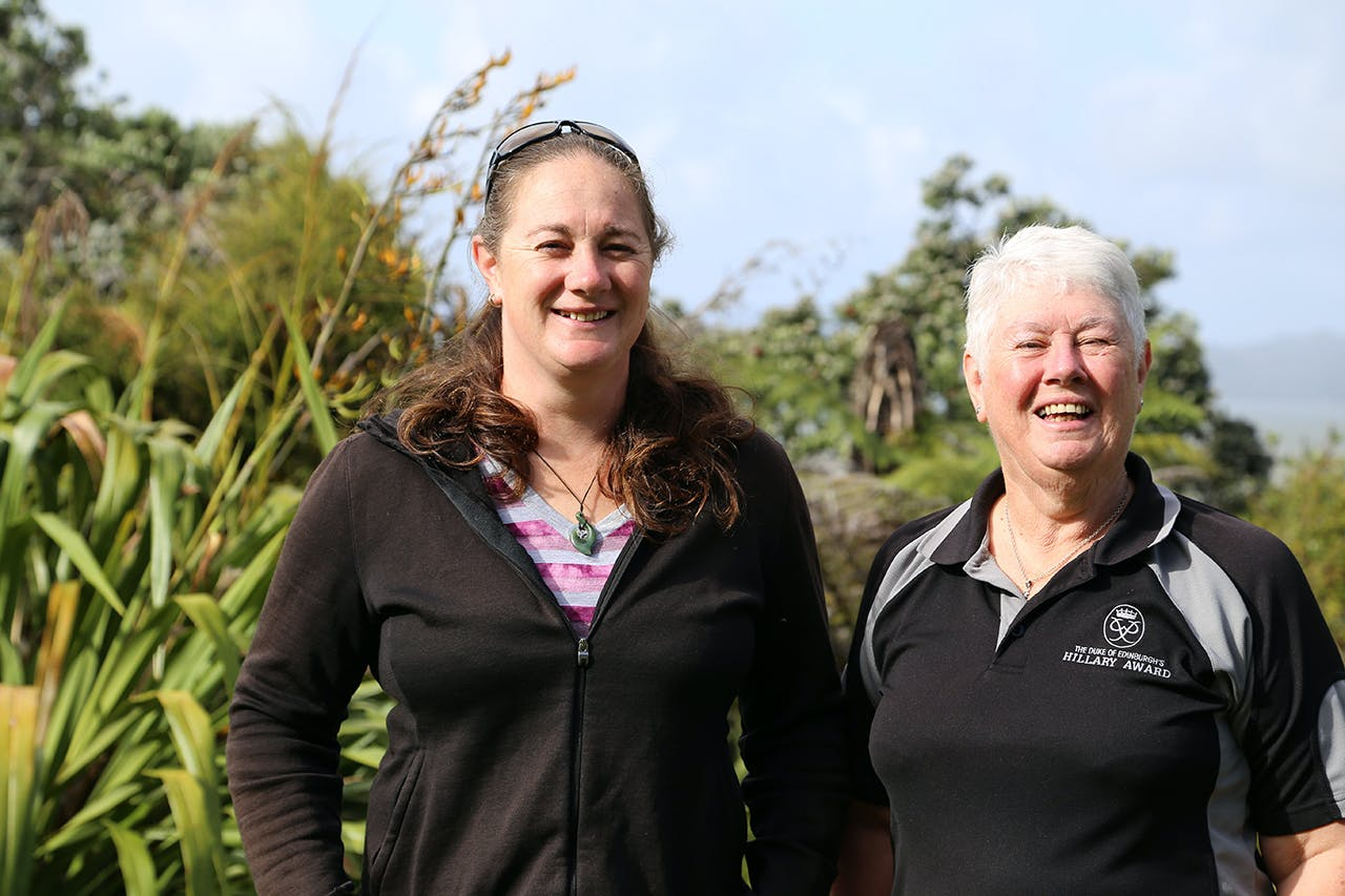 Kathryn Wood and Gemma Thompson have been helping students complete their DOE awards for 30 years. Photo: Meghan Walker