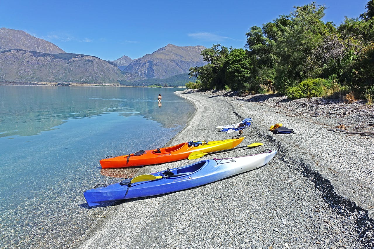 When Lake Wakatipu is calm, an overnighter to Pigeon Island is a must. Photo: Chris Prudden