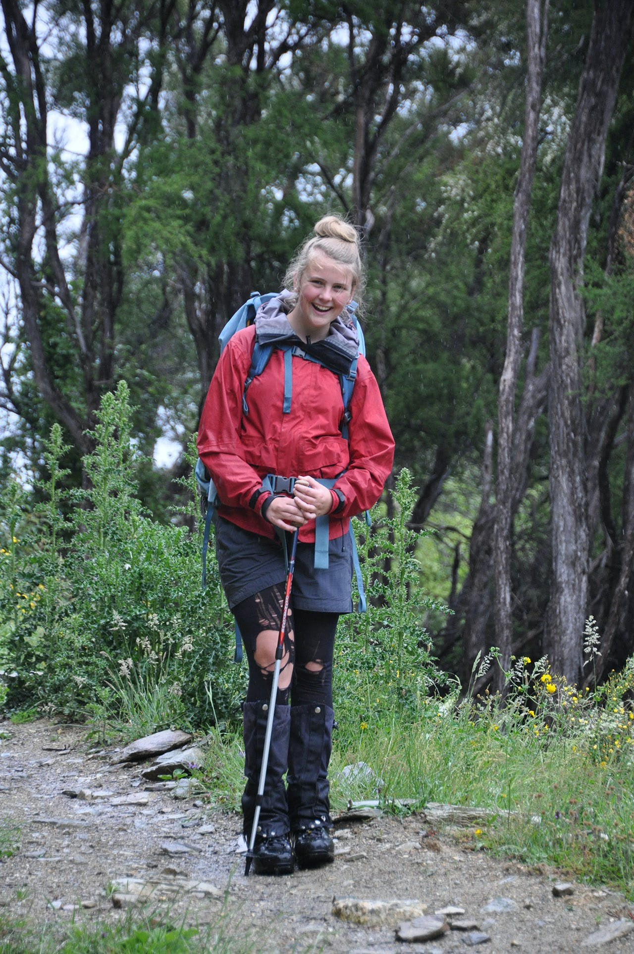 Mackenzie is now very at home in the hills. Photo: Jo Stilwell