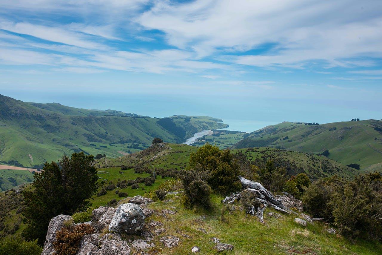 View from the summit. Photo: Pat Barrett