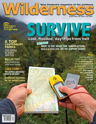Image of the April 2011 Wilderness Magazine Cover