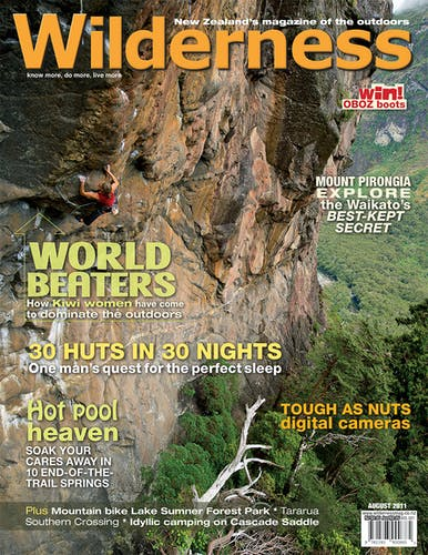 Image of the August 2011 Wilderness Magazine Cover