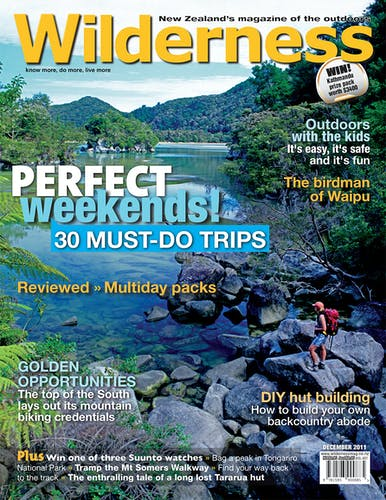 Image of the December 2011 Wilderness Magazine Cover