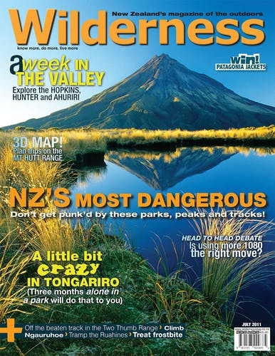 Image of the July 2011 Wilderness Magazine Cover