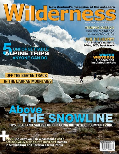 Image of the June 2011 Wilderness Magazine Cover