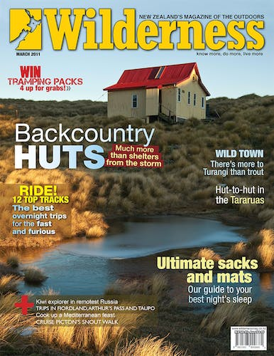 Image of the March 2011 Wilderness Magazine Cover
