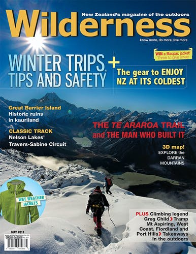 Image of the May 2011 Wilderness Magazine Cover