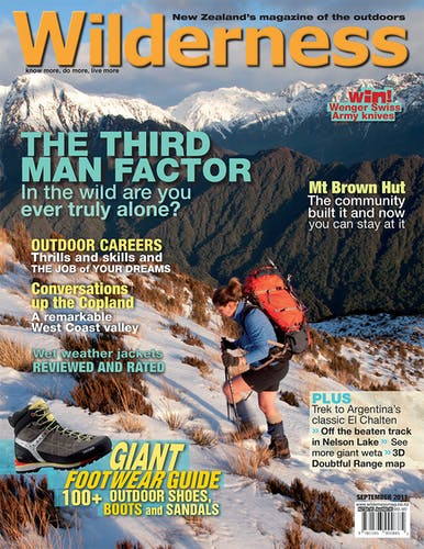 Image of the September 2011 Wilderness Magazine Cover