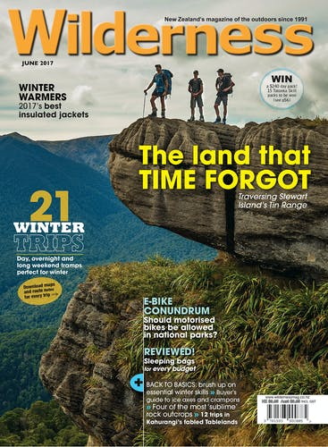 Image of the June 2017 Wilderness Magazine Cover