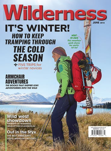 Image of the June 2018 Wilderness Magazine Cover