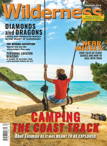 Image of the February 2019 Wilderness Magazine Cover