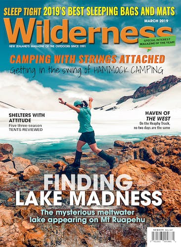 Image of the March 2019 Wilderness Magazine Cover