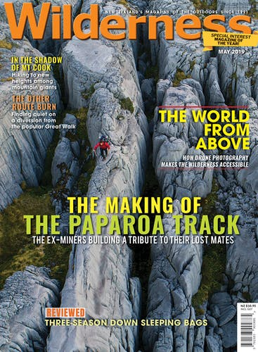 Image of the May 2019 Wilderness Magazine Cover